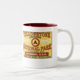 Yellowstone National Park Two-Tone Mug