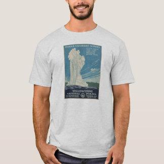 Yellowstone National Park Vintage Poster Shirt