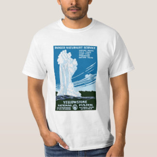 Yellowstone National Park Vintage T-shirts