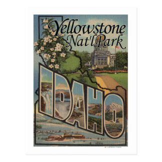 Yellowstone Nat'l Park, Idaho Postcard