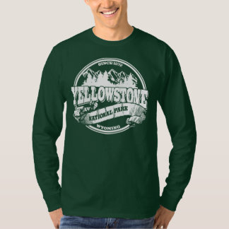 Yellowstone Old Circle White T-Shirt