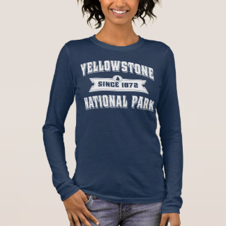 Yellowstone Old Style White Long Sleeve T-Shirt