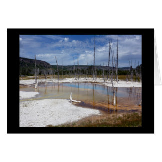 Yellowstone: Opalescent Pool Card