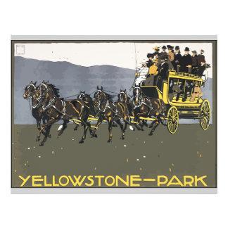 Yellowstone-Park, Vintage Flyers