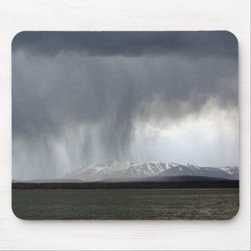 Yellowstone Rainy Day Mousepad