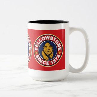 Yellowstone Red Circle Two-Tone Mug