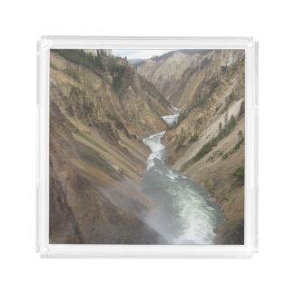 Yellowstone River Acrylic Tray