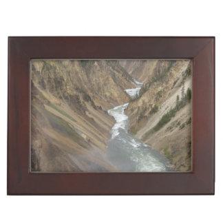 Yellowstone River Keepsake Box