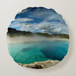 Yellowstone Round Cushion