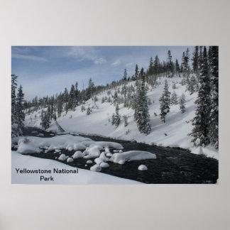 Yellowstone Stream Poster