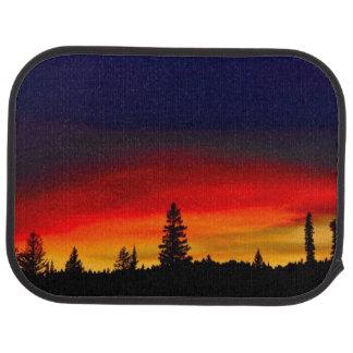 Yellowstone Sunset Car Mat