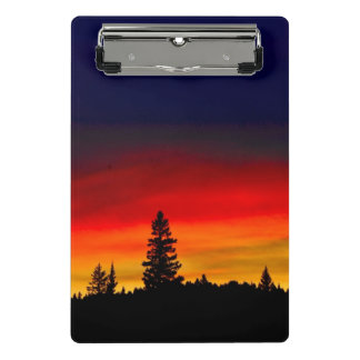 Yellowstone Sunset Mini Clipboard