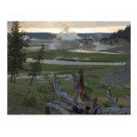 Yellowstone Sunsets Postcard