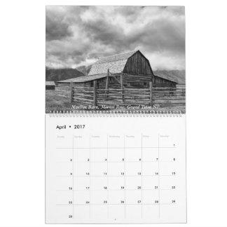 Yellowstone, The Grand Tetons, and Idaho Calendar
