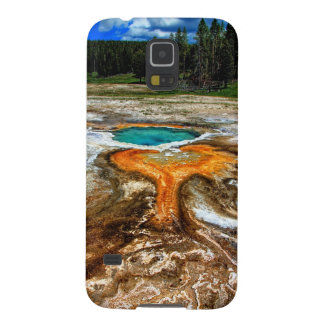 Yellowstone Thermal Pool Galaxy S5 Cover