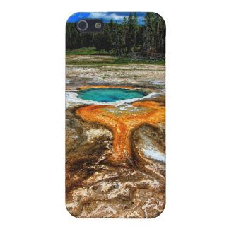 Yellowstone Thermal Pool iPhone 5/5S Covers