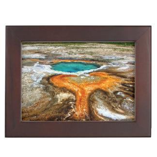 Yellowstone Thermal Pool Keepsake Box