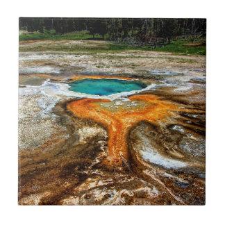 Yellowstone Thermal Pool Tile