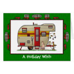 Yellowstone Trailer Camper Holiday Wish