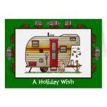 Yellowstone Trailer Camper Holiday Wish
