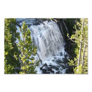 Yellowstone Waterfall in Yellowstone National Park Photograph
