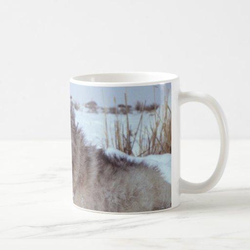Yellowstone Wolf Coffee Mug