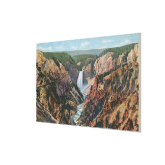 Yellowstone, WYfrom Artist's Point Canvas Print