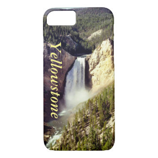 Yellowstone, Wyoming iPhone 7 cover w/text