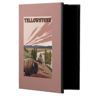 YellowstoneBison Scene Case For iPad Air