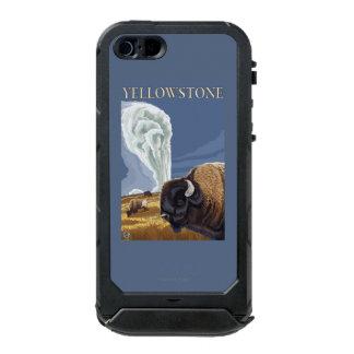 YellowstoneBison with Old Faithful Incipio ATLAS ID™ iPhone 5 Case