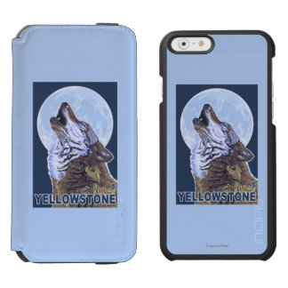 YellowstoneHowling Wolf Incipio Watson™ iPhone 6 Wallet Case