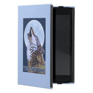 YellowstoneHowling Wolf iPad Mini Case