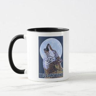 YellowstoneHowling Wolf Mug