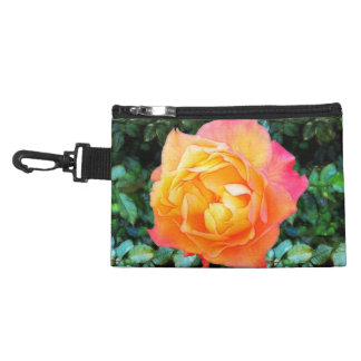 Yeloow Pink Fancy Rose Accessories Bags
