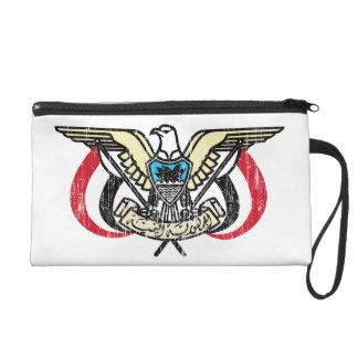 Yemen Coat Of Arms Wristlet