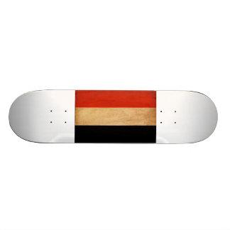 Yemen Flag 21.3 Cm Mini Skateboard Deck