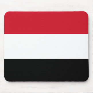 Yemen Flag and Colors Mouse Pad