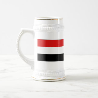 Yemen Flag ~ Map Mug