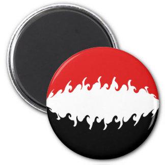 Yemen Gnarly Flag Fridge Magnet