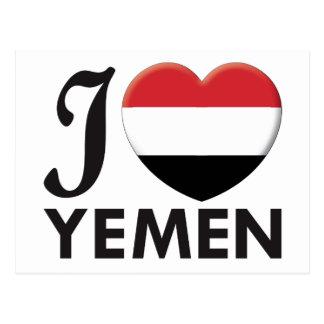 Yemen Love Postcard