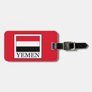 Yemen Luggage Tag