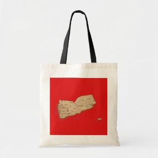Yemen Map Bag