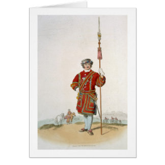 Yeoman of the King's Guard, from 'Costume of Great Card