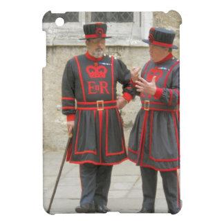 Yeoman warders, or beefeaters on duty iPad mini case