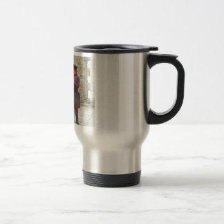 Yeoman warders, or beefeaters on duty coffee mugs