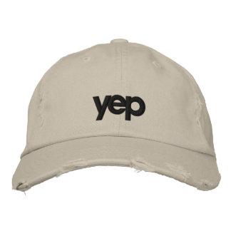 YEP Hat Embroidered Baseball Caps