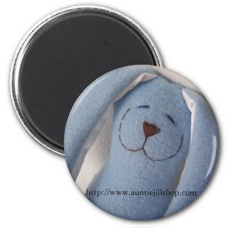 Yep, I'm a Snuggle Bunny. 6 Cm Round Magnet