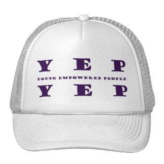 YEP YEP Purple Print Cap
