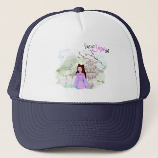 Yeppeun Yeoja Project ~ Zhen Shu (珍菊) Trucker Hat