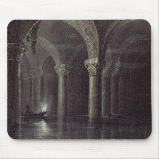 Yere Batan Serai (The Cisterns) Istanbul, engraved Mouse Mat